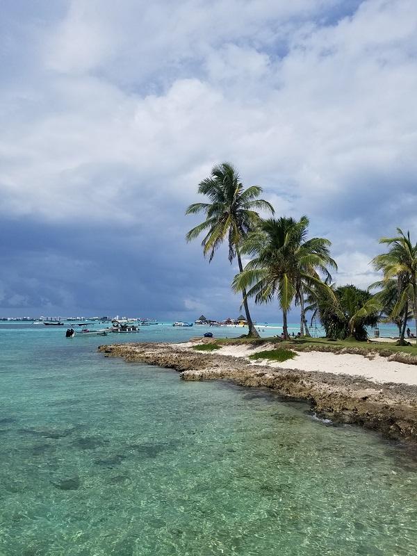 San Andres isla paraiso colombiano acuario rayas buceo