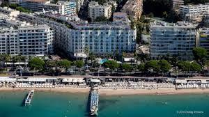 croisette cannes hotel martinez vista aerea