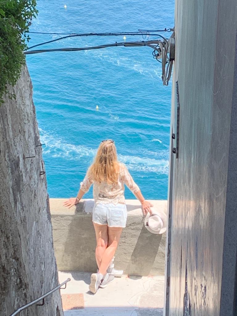mar mediterraneo en costas amalfitanas