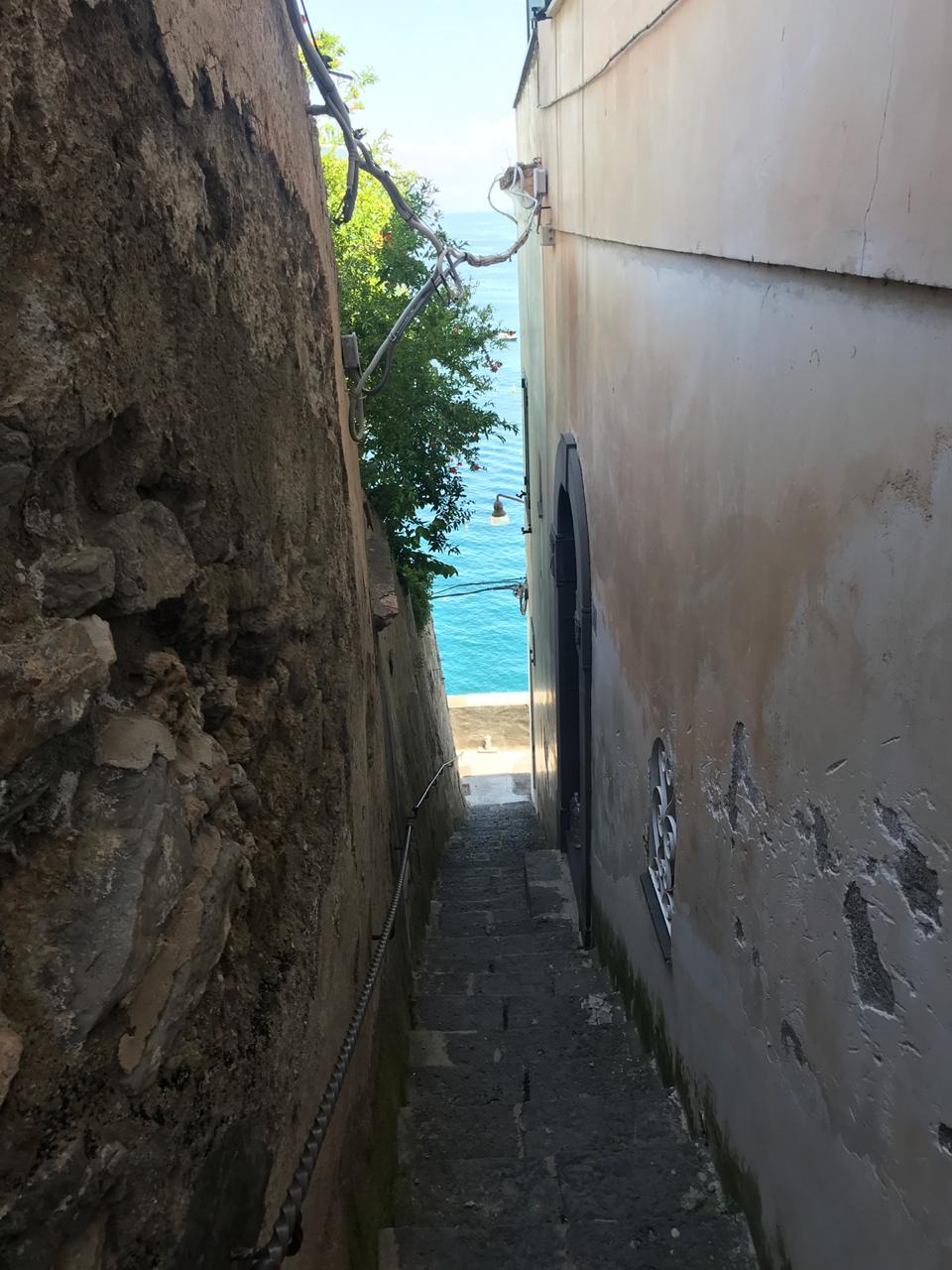 mediterranean coast amalfi atrani