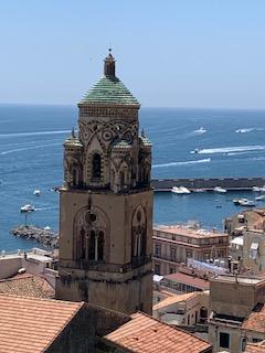 torre catedral san andres apostol amalfi pueblo